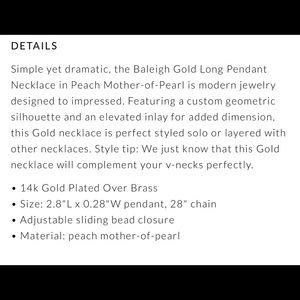Kendra Scott Jewelry - NEW KENDRA SCOTT BALEIGH STATEMENT NECKLACE
